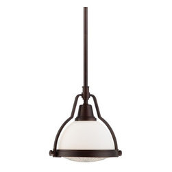 Minka Lavery - Minka Lavery 5750 1 Light Mini Pendant with Dome Shaped Shade - Features:
