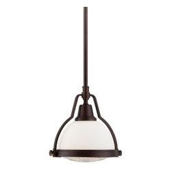 Minka Lavery - Minka Lavery 5750 1 Light Mini Pendant with Dome Shaped Shade - Features: