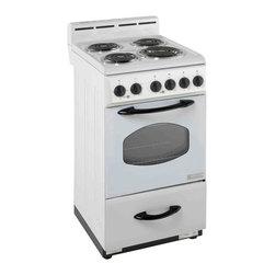 "Avanti - Avanti 20"" White Electric Range Oven - Avanti 20"" white electric range oven."