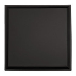 """Apollo Ceiling Tile - Black - Perfect for both commercial and residential applications, these tiles are made from thick .03"""" vinyl plastic. Their lightweight yet durable construction make these tiles easy to install. Waterproof, these tiles are washable and won't stain due to humidity or mildew. A perfect choice for anyone wanting to add that designer touch at an amazing price."""