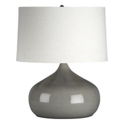 Martin Table Lamp - I am in love with the color of this lamp! The shape of it is great too. It's also not much of a statement lamp, so it won't distract from the rest of the room, just add to it.