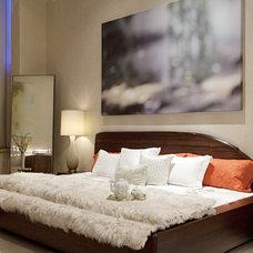 Contemporary Bedroom by Joe Ginsberg Design