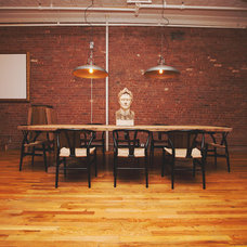 Industrial Dining Room by Homepolish