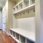 Custom Home Waxhaw 3 - Mud Room Lockers
