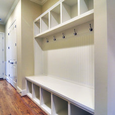 traditional clothes and shoes organizers by Linnane Homes