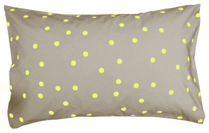 modern bed pillows and pillowcases by Castle and Things