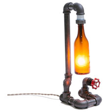 Industrial Table Lamps by Peared Creation