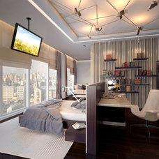 Modern Bedroom by Design Studio Y&S architecture-interior design
