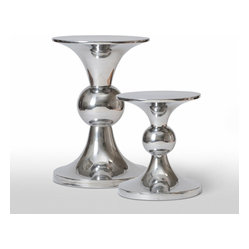Nickel Stool Table