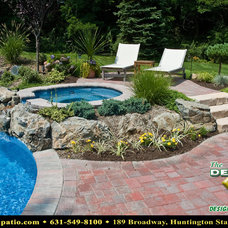 "Contemporary Patio by Deck and Patio Company ""Outdoor Living Experts"""