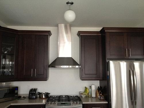 kitchen hood fan