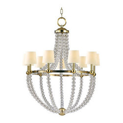 Hudson Valley Lighting - Hudson Valley Lighting 3119 Danville 9 Light Chandelier - Hudson Valley Lighting 3119 Danville 9 Light ChandelierCrystal balls are used as decorative highlights in these unique lighting fixtures from the Danville Collection.Hudson Valley Lighting 3119 Features: