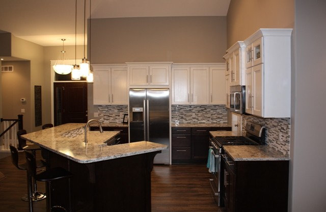 Eclectic Kitchen by Starlite Kitchens and Baths