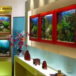 Aquavista 500 Wall Aquarium - Capacity 25 liters (approx. 6.6 gallons)