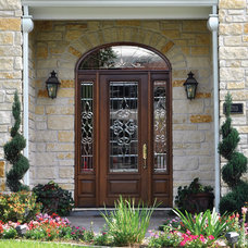 Mediterranean Front Doors by GlassCraft Door Company