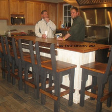 Indoor Pub And Bistro Tables by Any Style Cabinetry