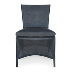 Urban Home Balboa Side Chair - Made of Recycled Plastics. Features a clean mesh look.Cushion sold separately.