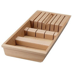 modern cabinet and drawer organizers by IKEA