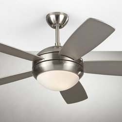 "Monte Carlo Fans - Monte Carlo Fans-5DI44BSD-Discus II - 44"" Ceiling Fan - Precision balanced motor and blades for wobble-free operation."