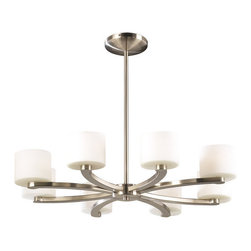 PLC Lighting - PLC Lighting PLC 7619 Eight Light Decorative Semi Flush Ceiling Light Fixture - PLC Lighting PLC 7619 Contemporary / Modern Eight Light Decorative Semi Flush Ceiling Light Fixture from the De Lion CollectionSince 1989, PLC Lighting, Inc. has continued to provide our customers with both contemporary and traditional lighting fixtures in a multitude of styles. Their products can be found in showrooms throughout North, Central and South America, as well as the Caribbean Islands. They furnish the finest residences, hotels, restaurants, and office complexes all over the world.Features: