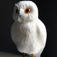 Traditional Accessories And Decor White Owl