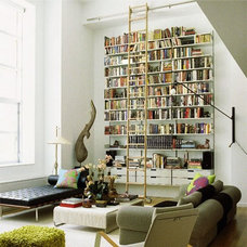 Eclectic  living space