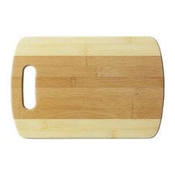 Bamboo Studio - Bamboo Studio Medium Two Tone Cutting Board - Made from 100% natural aged bamboo wood.