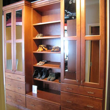 Traditional Shoe Storage by Superior Cabinets