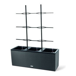 Lechuza Trio Cottage Trellis for Trio 30 - About LechuzaThe Brandstaetter Group, well-known for its plastic toy brand Playmobil, introduced the Lechuza brand in 2000. Lechuza provides durable, stylish, weatherproof, and - most importantly - self-irrigating planters for indoor and outdoor use. The self-irrigation system allows water to circulate as it does in nature, making it the perfect solution for anyone who wishes to enjoy beautiful, healthy plants without a lot of maintenance. Lechuza planters are manufactured in Germany and ship to more than 50 countries worldwide.