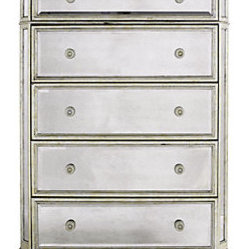 Borghese Mirrored 5-Drawer Chest