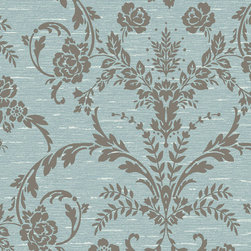 York Wallcoverings - CS8748 Wallpaper, Double Roll - Prepasted: Paste has already been applied to the back of the wallpaper and is activated with water.