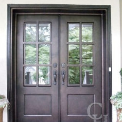 Clark Hall Iron Doors - Clark Hall Iron Doors