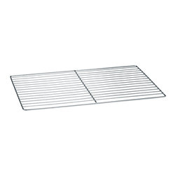 Paderno World Cuisine - 25 1/2 in. by 20 7/8 in. Stainless-steel Cooling Rack with Handles - This 25 1/2 long by 20 7/8 wide (hotel pan size 2/1) stainless-steel cooling rack with handles s is a necessity for any pastry chef for moving, cooling and storing pastries.