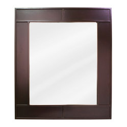 Lyn Design MIR042 Wood Mirror