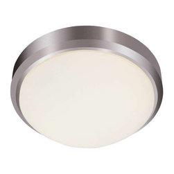 Trans Globe Lighting - Trans Globe Lighting 13880 BN Flushmount In Brushed Nickel - Part Number: 13880 BN