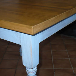 Farmhouse Table - Hand build with mortise & tenon joints