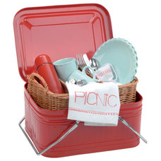 Contemporary Picnic Baskets by House to Home