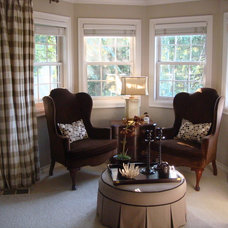 Traditional Living Room by Christi Towne Designs