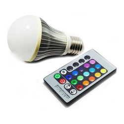 TorchStar - Muti Color Light Bulb with Remote Control - Overview