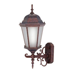 Livex Lighting - Livex Limited Energy Saving CF Outdoor Lanterns Outdoor Wall Lantern Weathered - Livex products are highly detailed and meticulously finished by some of the best craftsmen in the business