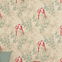 Romo - Romo Mirabel Soft Red Wallpaper - For Romo wallpapers, meticulous design process develops a design from a simple pencil sketch through to beautifully drawn artwork, or inspirational archive documents are re-worked into imaginative new designs. Their reputation for offering excellent design and quality is built on two important factors: exclusive designs by experienced designers; and close working relationships with carefully chosen expert printers.