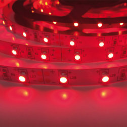 Red Indoor - LED Light Flexible Strips DEMASLED - www.demasled.us (SMD3528 FLEXIBLE STRIP - 300LED/16.4ft - Red )