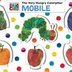 Chronicle Books - The Very Hungry Caterpillar Mobile by Eric Carle - The Very Hungry Caterpillar Mobile by Eric Carle