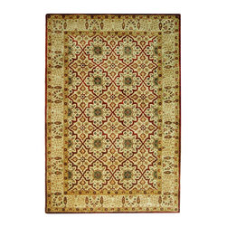 """Safavieh - Traditional Persian Legend Hallway Runner 2'6""""x10' Runner Beige - Beige Area Rug - The Persian Legend area rug Collection offers an affordable assortment of Traditional stylings. Persian Legend features a blend of natural Beige - Beige color. Hand Tufted of Wool the Persian Legend Collection is an intriguing compliment to any decor."""