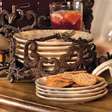 Traditional Plates by Iron Accents