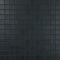 "Crayola - Recycled Glass Mosaics Black Matte 12.25"" x 12.25"" - The new  Recycled Collection consists of 36 solid colors in two finishes and nine special blends. Approved for both floor and wall use in commercial as well as residential applications, finished products from this new series (which contain 99% recycled glass) result in being SCS-certified, making them ideal for any LEED project."