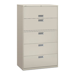 Brigade 600 5-Drawer Lateral File