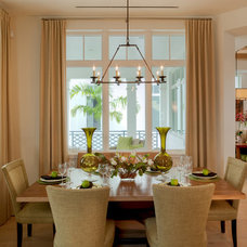 Traditional Dining Room by Godfrey Design Consultants Inc