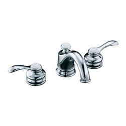 KOHLER - KOHLER K-12265-4-CP Fairfax Widespread Bathroom Sink Faucet - KOHLER K-12265-4-CP Fairfax Widespread Bathroom Sink Faucet in Polished Chrome