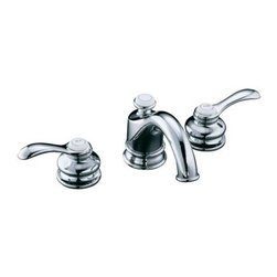 KOHLER - KOHLER K-12265-4-CP Fairfax Widespread Bathroom Sink Faucet - KOHLER K-12265-4-CP Fairfax Widespread Bathroom Sink Faucet in Polished Chrome